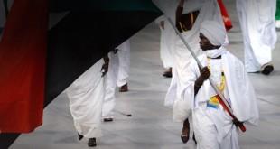 Sudan Athletics Team photo for PR