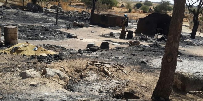 Mouli village, West Darfur, January 2016