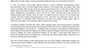 Sudan Joint Statement from 24 Civil Society Organisations regarding Sexual Violence in Conflict-page-001