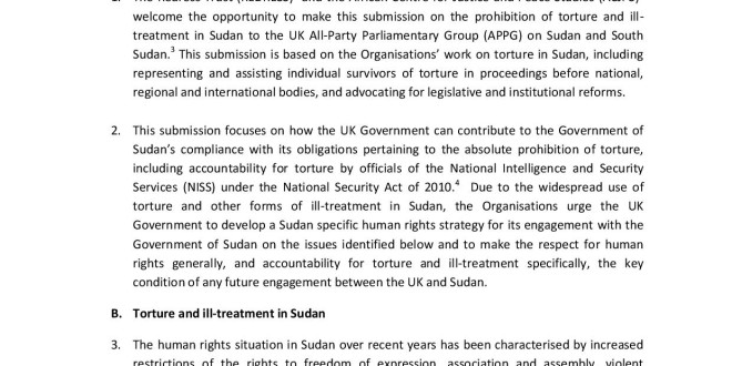 REDRESS_ACJPS Submission_APPG_SUDAN_31August2016-page-001