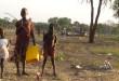 Sudanese refugees in Gendrassa refugee camp, Upper Nile, South Sudan
