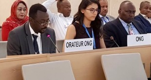 ACJPS Executive Director delivers oral statement at 36th session of Human Rights Council, 27th September 2017