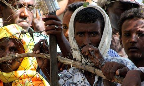 Eritrean Refugees at Shagarab Refugees camp in Kassala (World Bulletin)